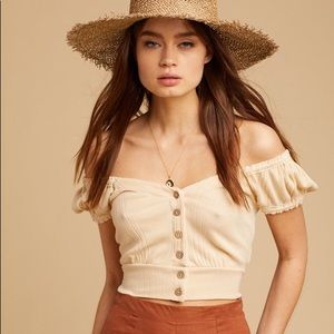 Free People Brighter Days Top NWT Size S